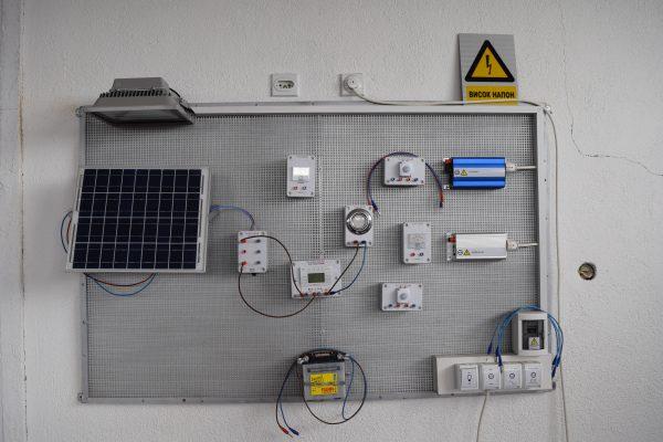 Фотоволтаична едукативна опрема, 120 000 денари